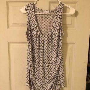 NY&COMPANY black and white blouse. Size L.